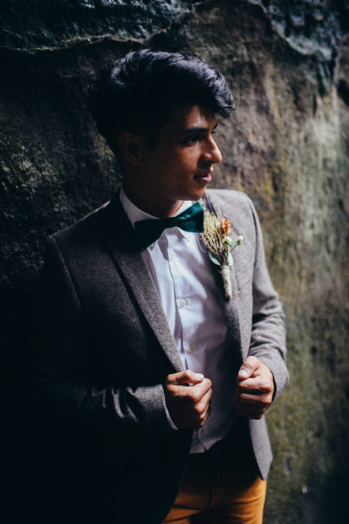 Hochzeits-Trendshooting in der sächsischen Schweiz