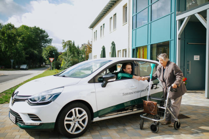 Image-Fotografie für Oberlausitzer Pflegeheim Kunze