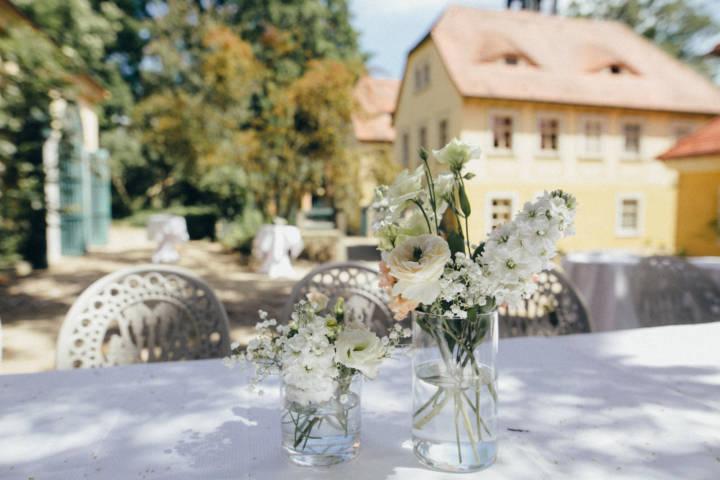Hochzeitsfotografie auf Hoflößnitz und der Villa Sorgenfrei in Radebeul