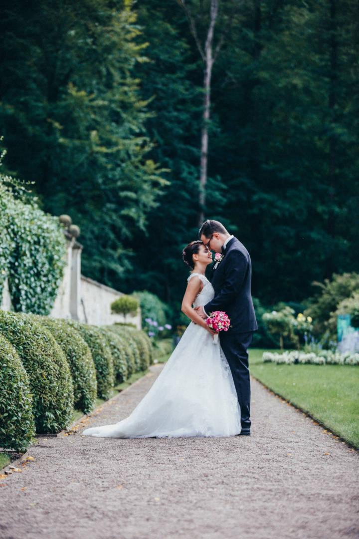 Hochzeitsfotografie auf Schloss Weesenstein