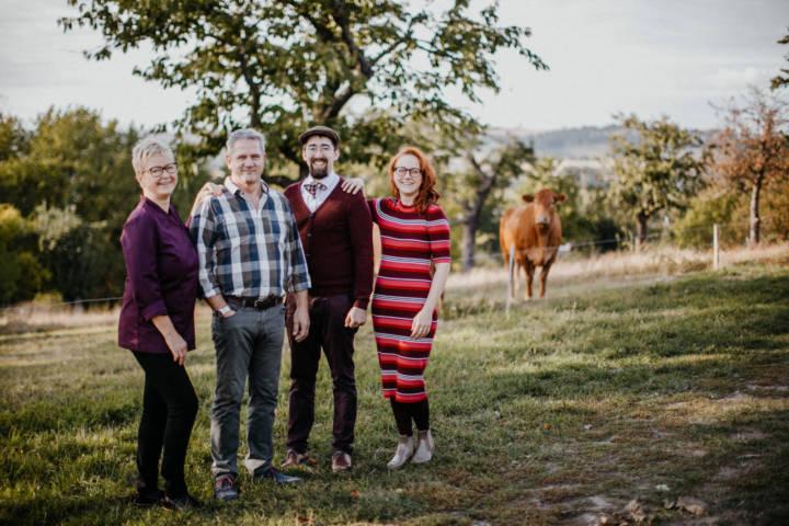 Familien-Porträt und Imagefotografie in der Rosenschänke in Kreischa