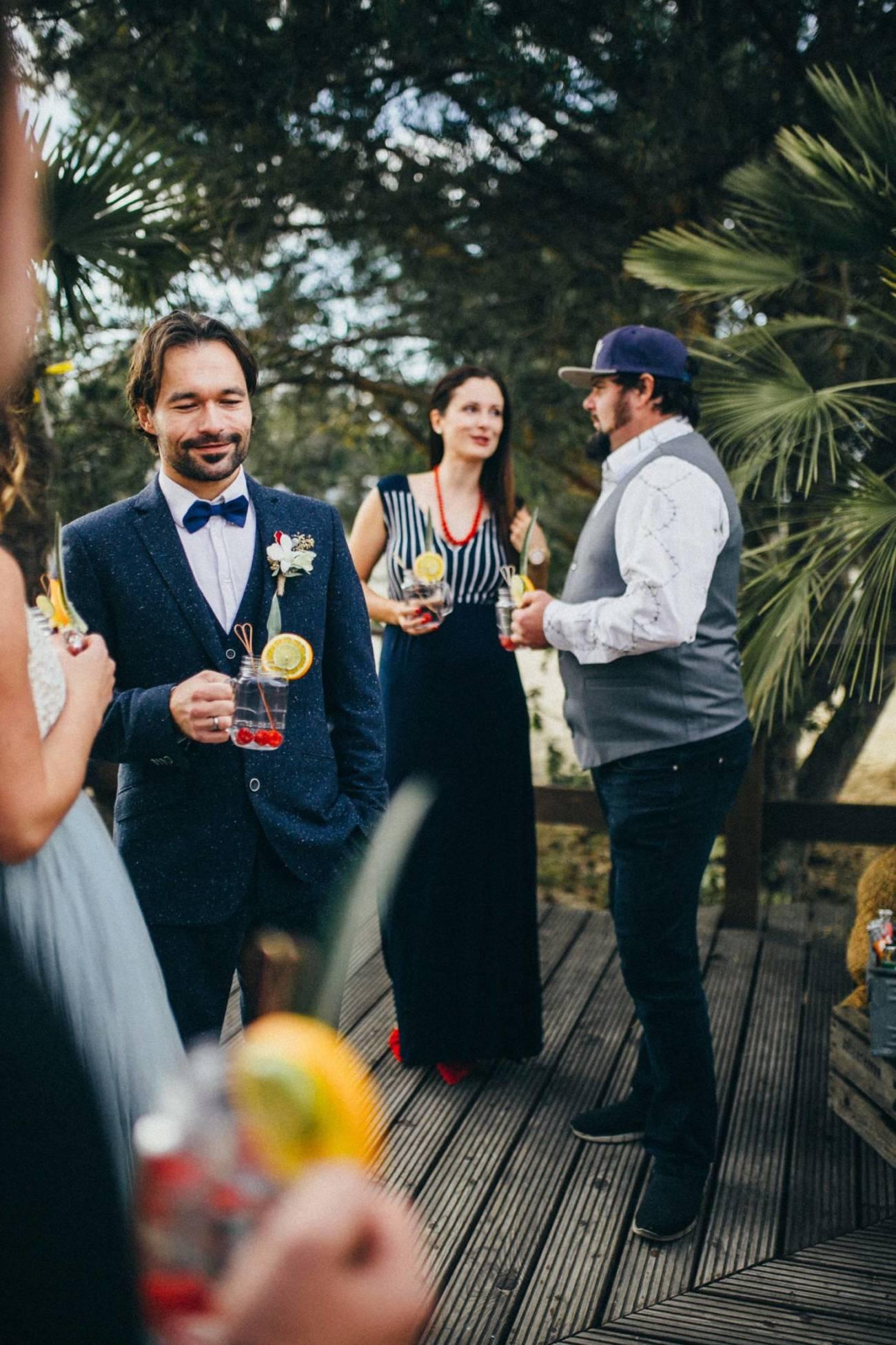 Außergewöhnlich heiraten mit Strand und Karibikstil in der Lausitz