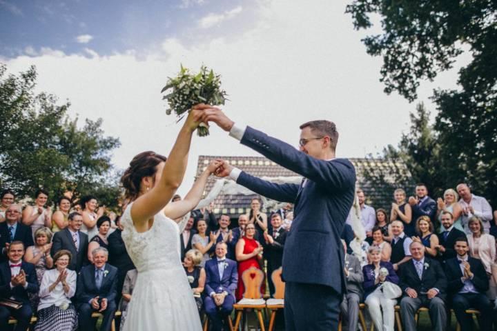Hochzeit auf dem Njepila-Hof und der Museumsscheune Bloischdorf