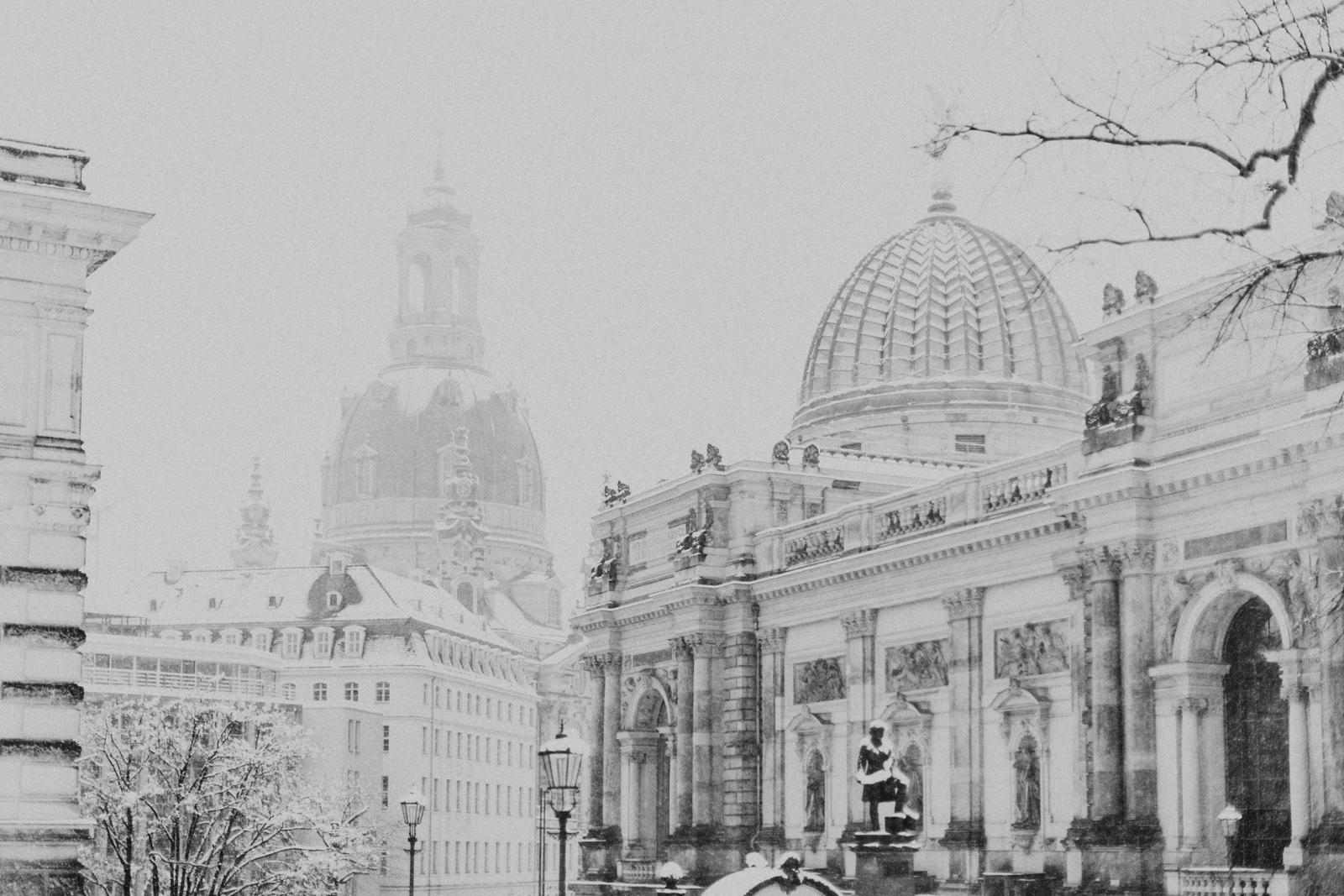Winterspaziergang durch die Dresdner Altstadt 2019
