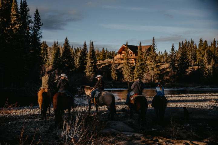 Imagefotografie auf der Big Creek Lodge in Canada