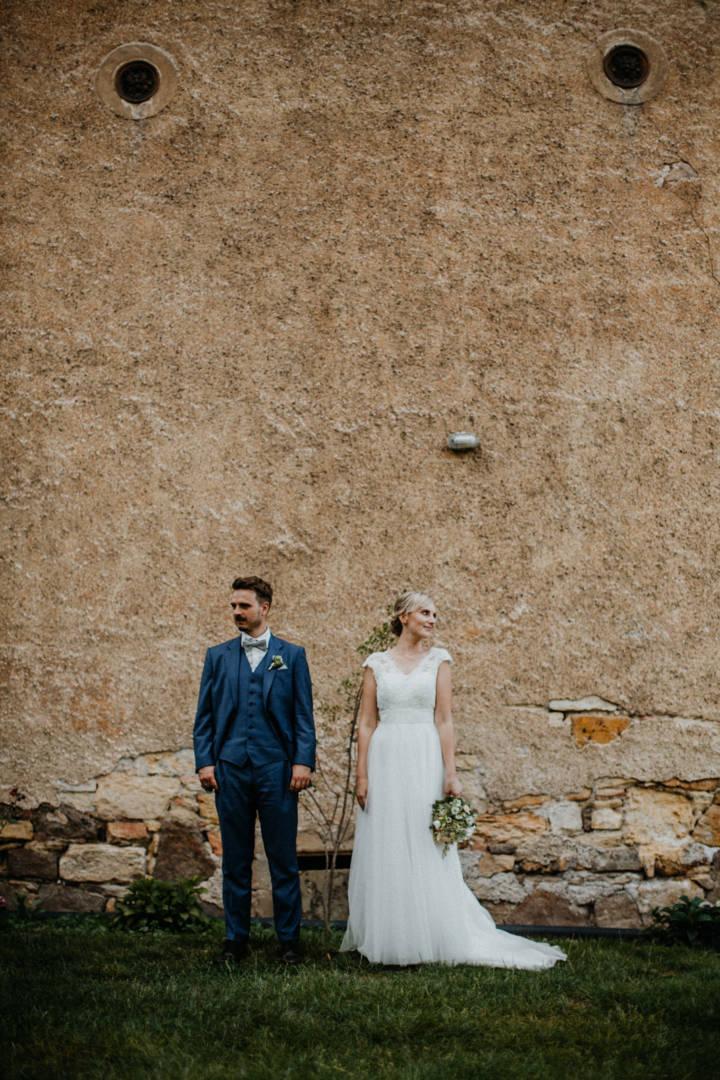 Hochzeitsfotografie auf dem Landgut Julius Kost in Wilstruff