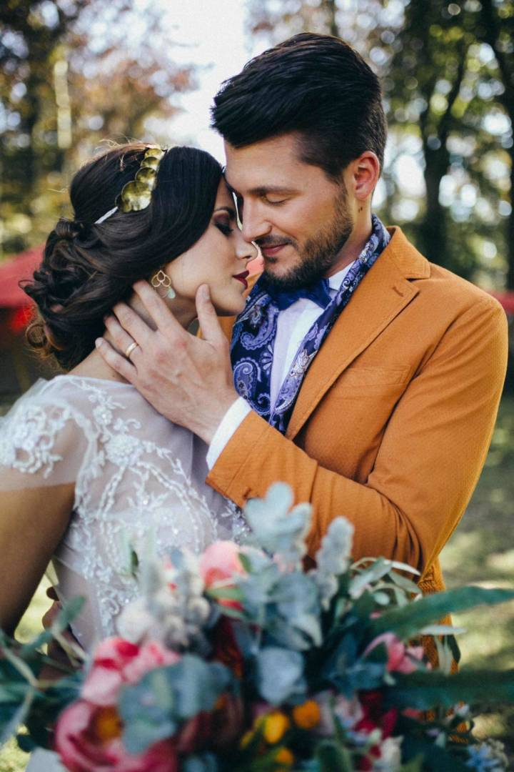 Oriental-Bohemian Styled Shooting auf dem Wedding Market in Leipzig
